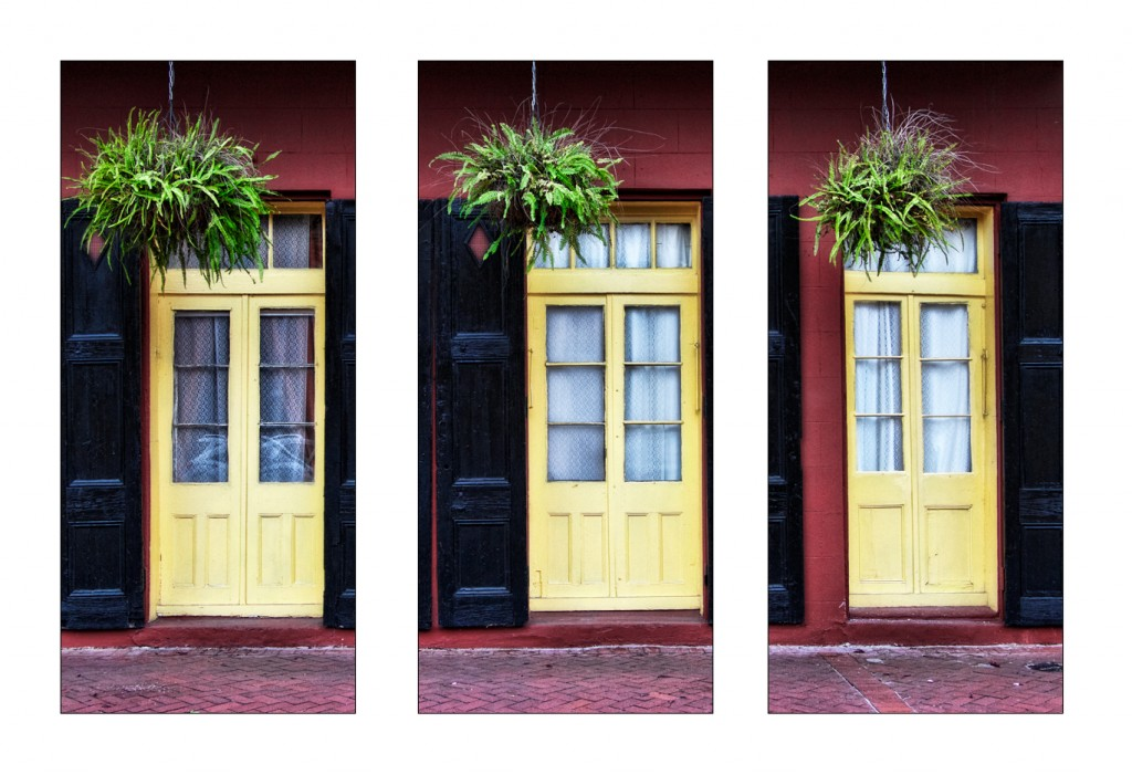 NOLA Doors Triptych Low